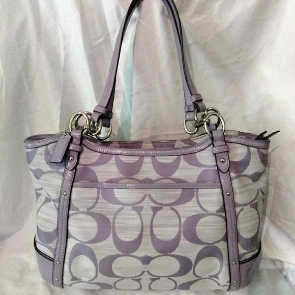 67b638bc4b Coach Handbags - COACH Alexandria Chain signature tote